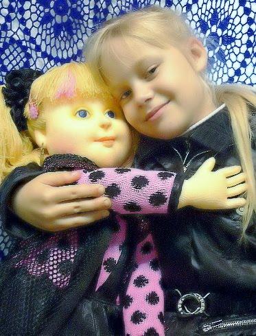 Моя внучка Катюша и её подружка