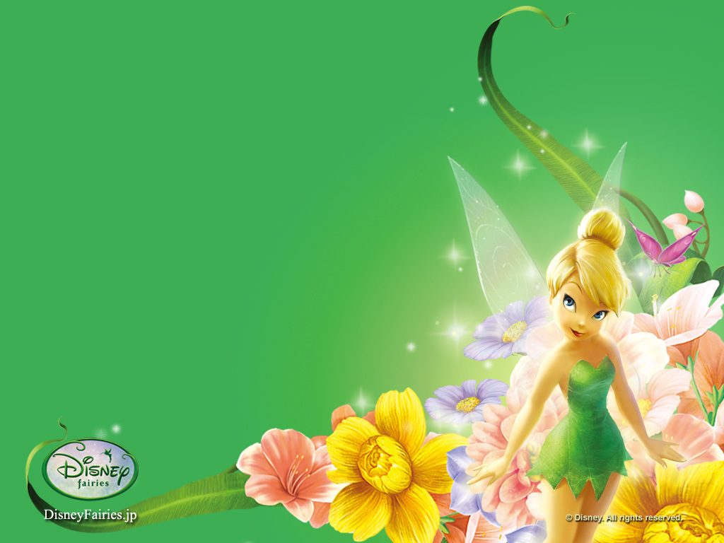 TinkerBell free photo or wallpaper. Labels: Cinderella, kartun lucu,