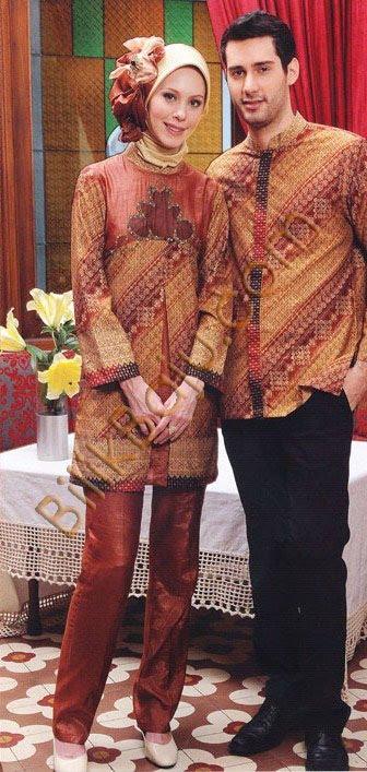 Busana Muslim Terbaru   Baju Batik Lurik