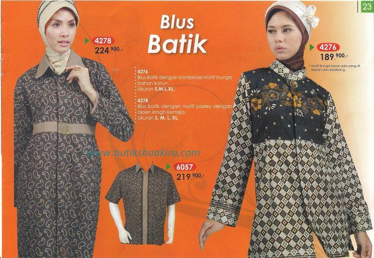 Busana Muslim Terbaru | Baju Batik Lurik ~ Busana Terbaru