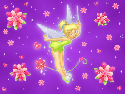 tinker bell wallpaper. disney tinker bell wallpaper