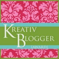 premio, blogger, kreative blogger