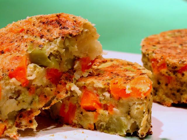 hamburger vegetali, carote, broccoli, medaglioni di verdure