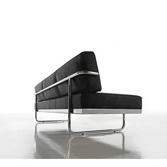 Lc5 Sofa Bed Le Corbusier Italian Leather
