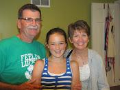 Joe, Kim, and Olivia