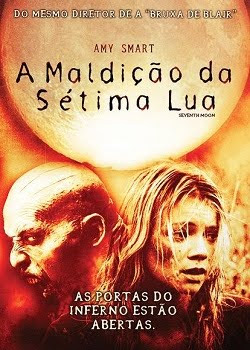 Filme Poster A Maldição da Sétima Lua DVDRip RMVB Dublado