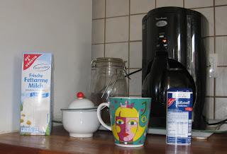 Alles notwendige für eine Kaffeepause.