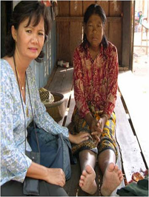 Khmerization: Cambodian Parliament Member Mu Sochua Visits