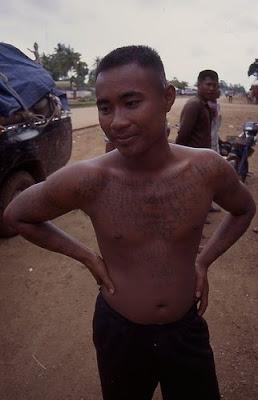 Cambodian Tattoo Khmer