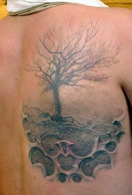 3D tattoo