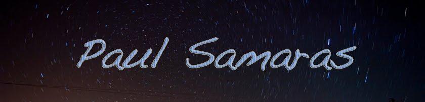 Paul Samaras Blog