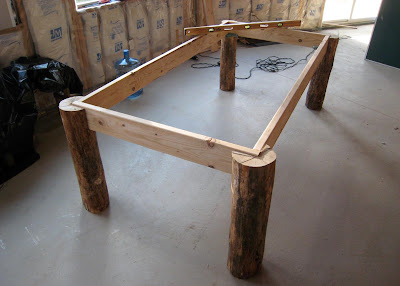 Bruemmer 39 s blog spot building a pool table for How to build a billiard table