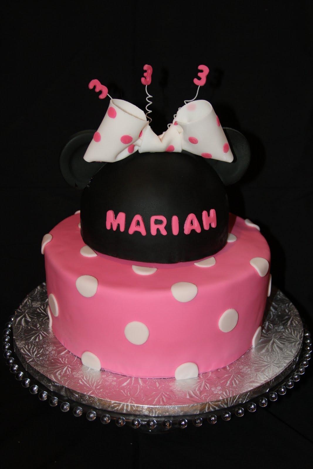 Minnie Mouse Birthday Cake Cakes N Goodies