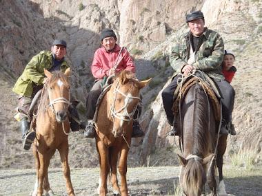 Son Kool Canyon, Kyrgyzstan