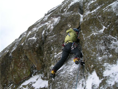 New Mixed Route - Forked Tongue, Neckband Crag, Lake District. UK