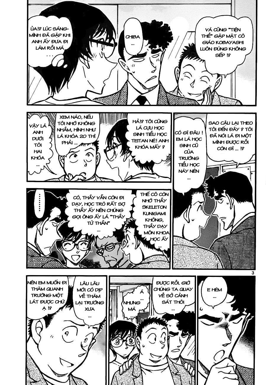 Detective Conan - Thám Tử Lừng Danh Conan chap 741 page 3 - IZTruyenTranh.com