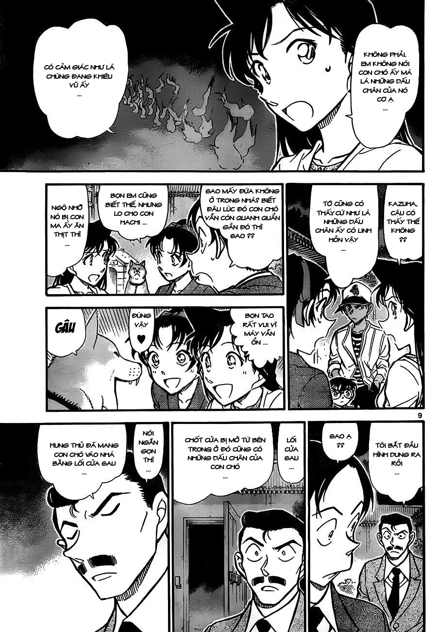 Detective Conan - Thám Tử Lừng Danh Conan chap 738 page 9 - IZTruyenTranh.com