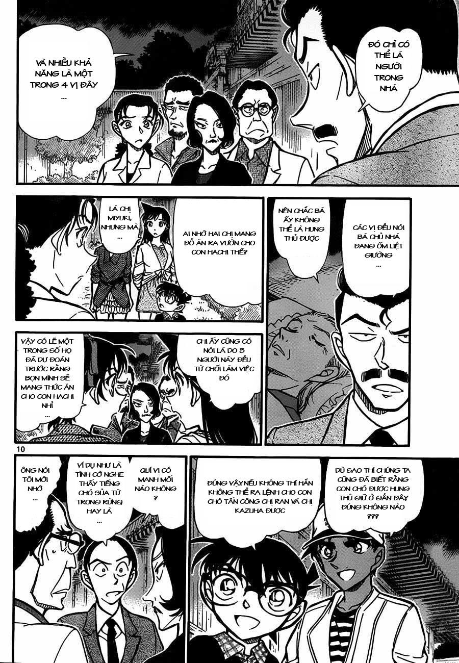 Detective Conan - Thám Tử Lừng Danh Conan chap 738 page 10 - IZTruyenTranh.com