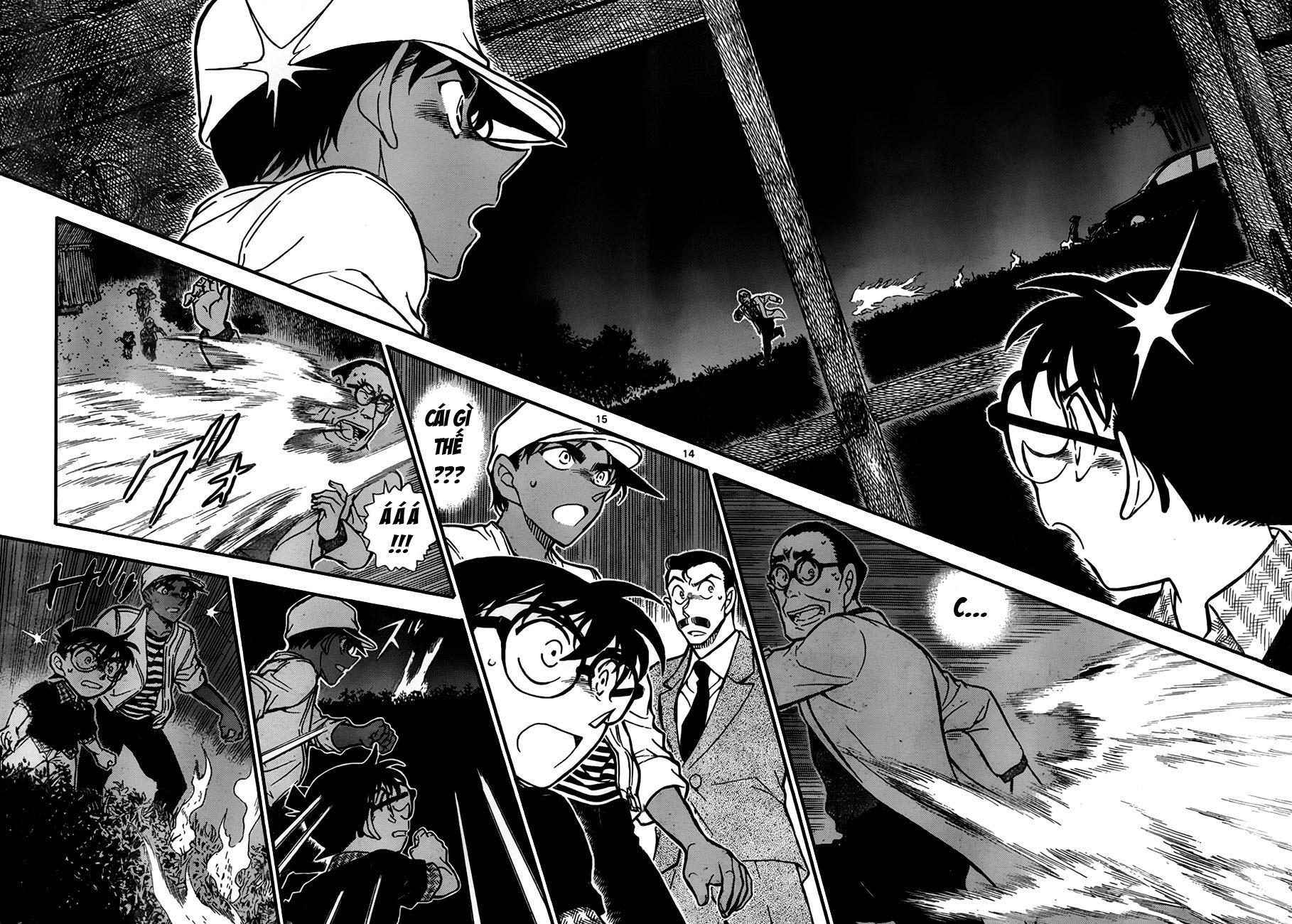 Detective Conan - Thám Tử Lừng Danh Conan chap 738 page 14 - IZTruyenTranh.com