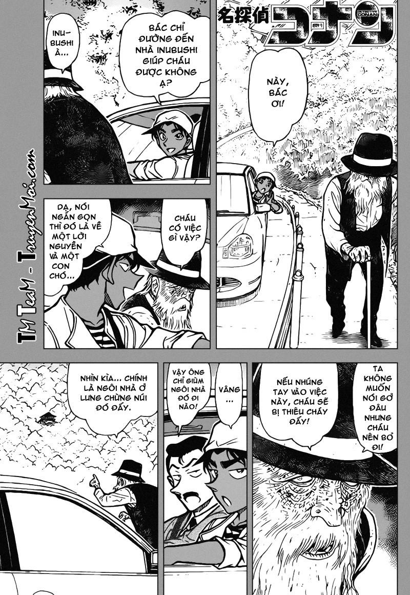 Conan-Thám Tử Lừng Danh trang 1