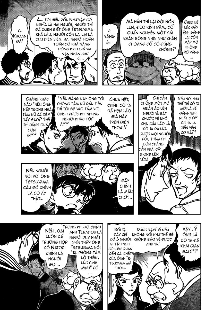 Detective Conan - Thám Tử Lừng Danh Conan chap 724 page 7 - IZTruyenTranh.com