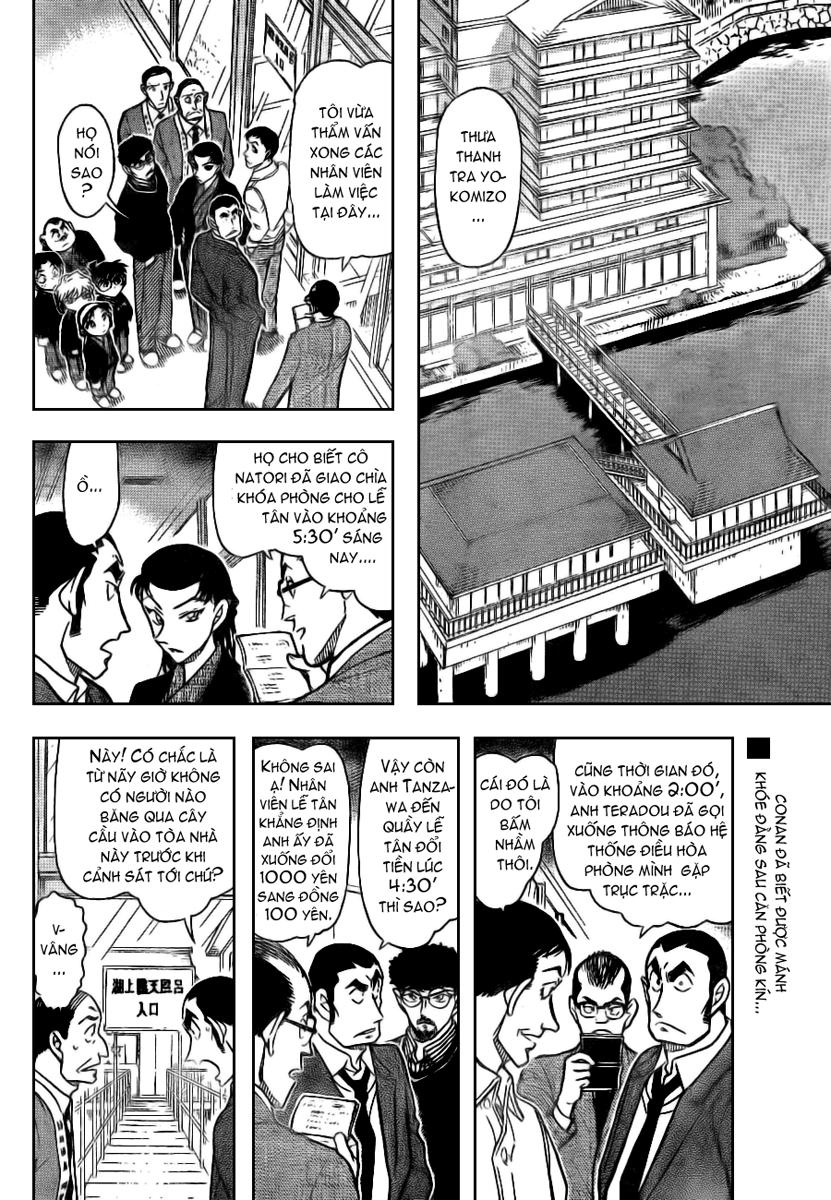 Detective Conan - Thám Tử Lừng Danh Conan chap 724 page 2 - IZTruyenTranh.com