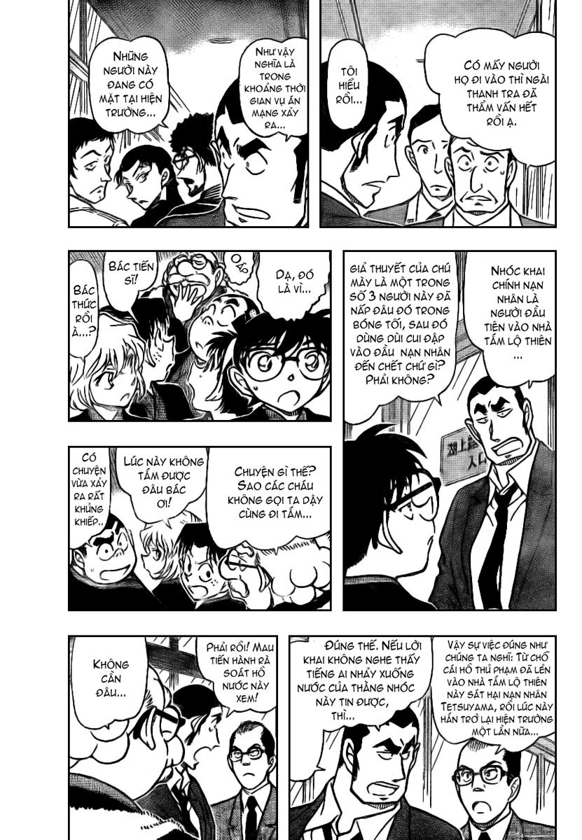 Detective Conan - Thám Tử Lừng Danh Conan chap 724 page 3 - IZTruyenTranh.com