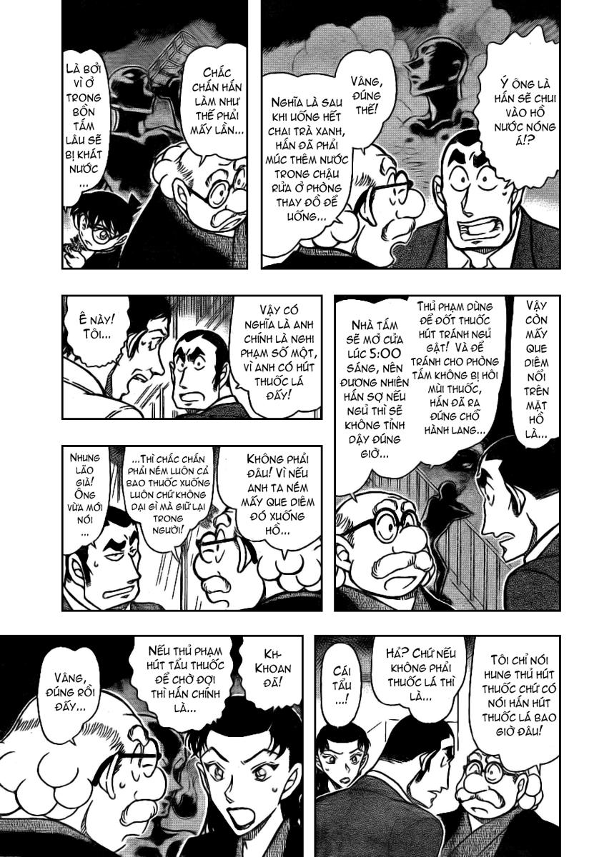 Detective Conan - Thám Tử Lừng Danh Conan chap 724 page 5 - IZTruyenTranh.com