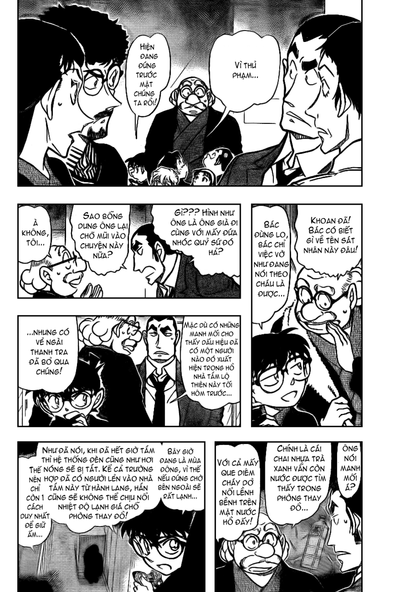 Detective Conan - Thám Tử Lừng Danh Conan chap 724 page 4 - IZTruyenTranh.com