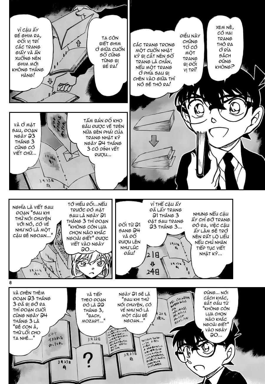 Detective Conan - Thám Tử Lừng Danh Conan chap 730 page 8 - IZTruyenTranh.com