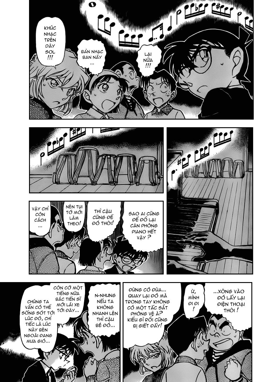 Detective Conan - Thám Tử Lừng Danh Conan chap 729 page 5 - IZTruyenTranh.com