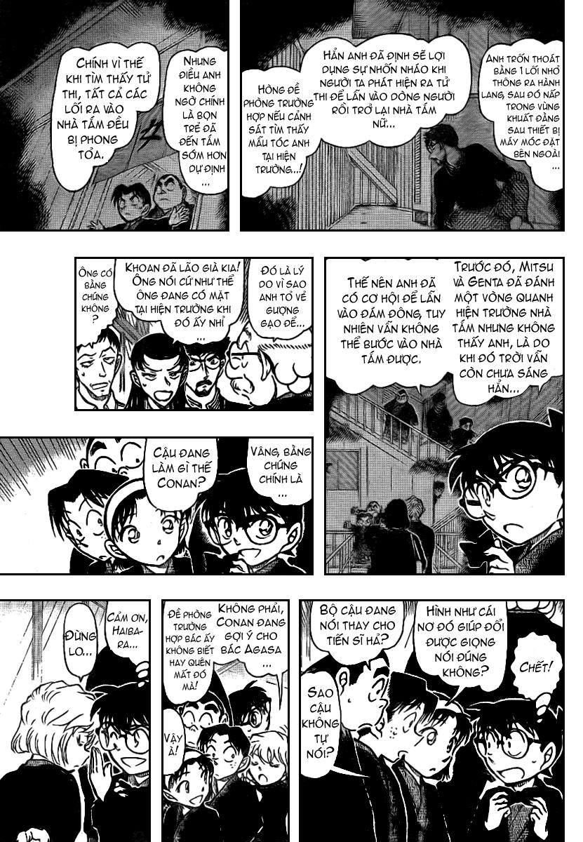 Detective Conan - Thám Tử Lừng Danh Conan chap 724 page 9 - IZTruyenTranh.com