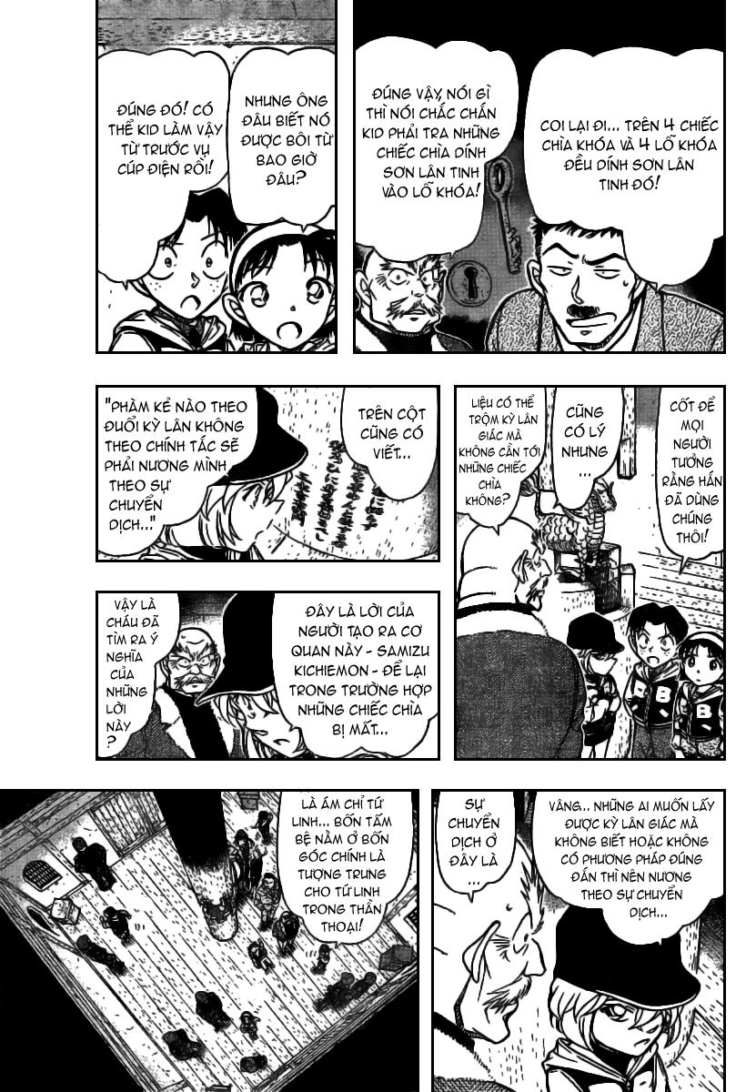 Detective Conan - Thám Tử Lừng Danh Conan chap 715 page 5 - IZTruyenTranh.com