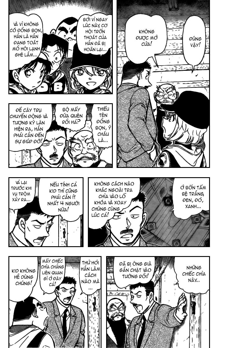 Detective Conan - Thám Tử Lừng Danh Conan chap 715 page 4 - IZTruyenTranh.com