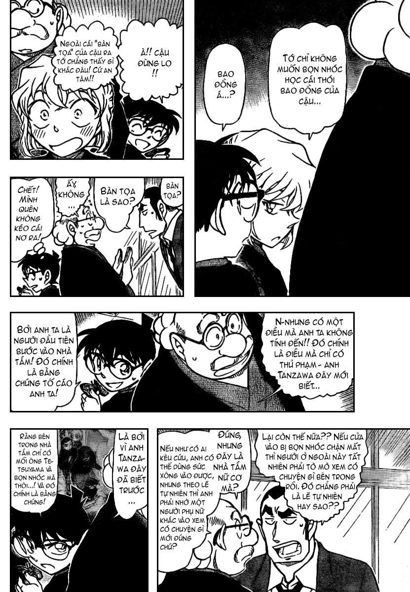 Detective Conan - Thám Tử Lừng Danh Conan chap 724 page 10 - IZTruyenTranh.com