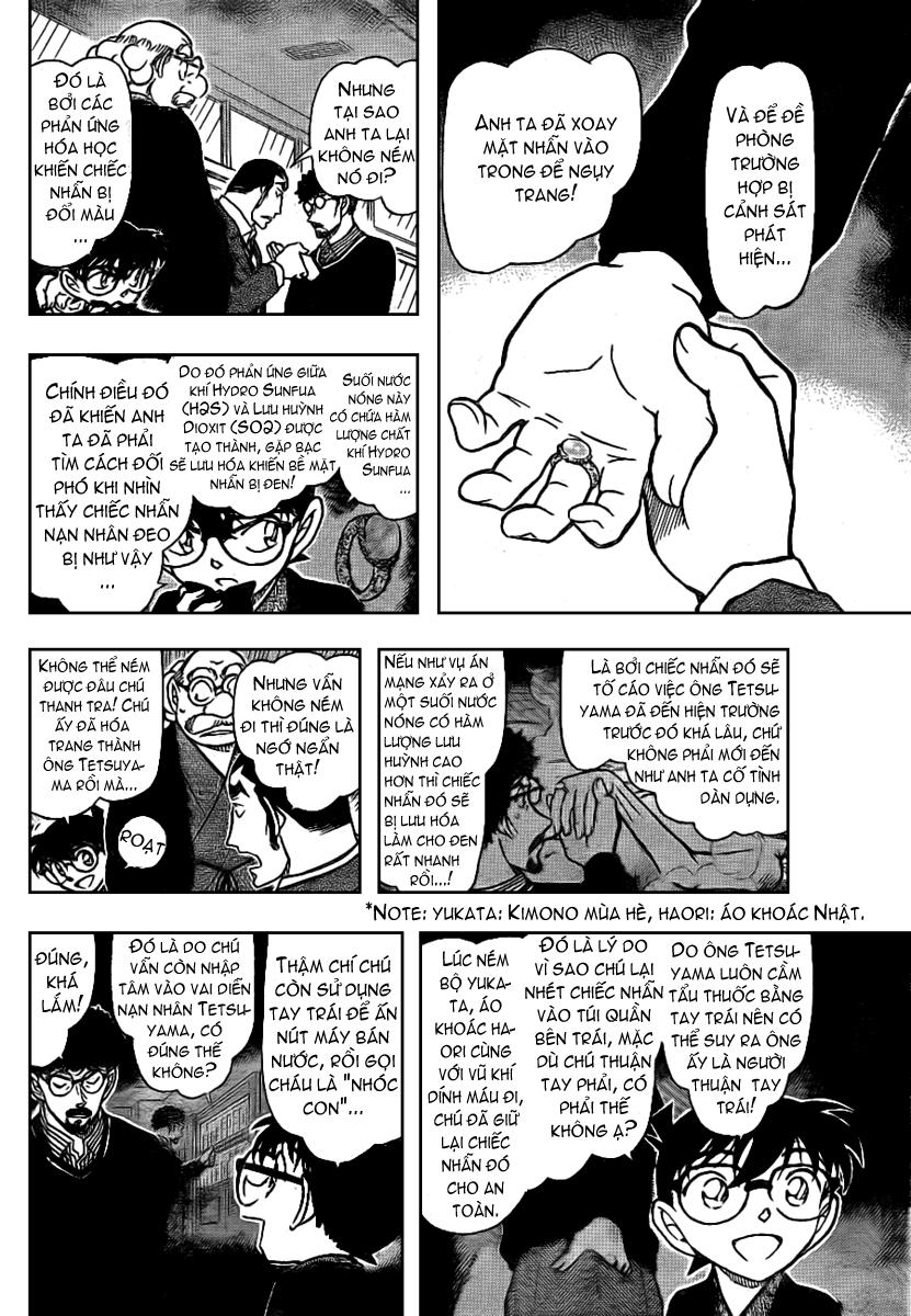 Detective Conan - Thám Tử Lừng Danh Conan chap 724 page 12 - IZTruyenTranh.com