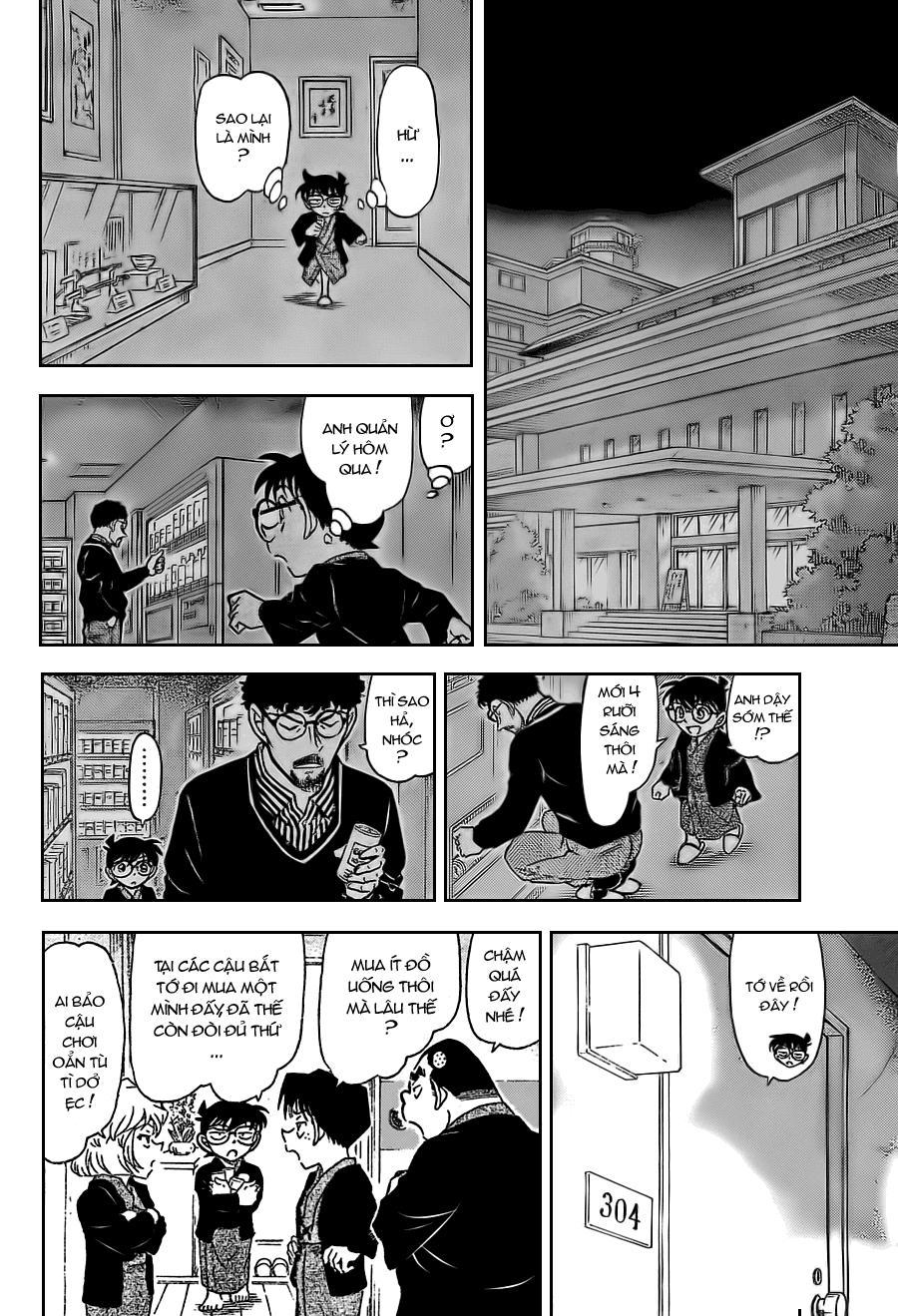 Detective Conan - Thám Tử Lừng Danh Conan chap 722 page 12 - IZTruyenTranh.com