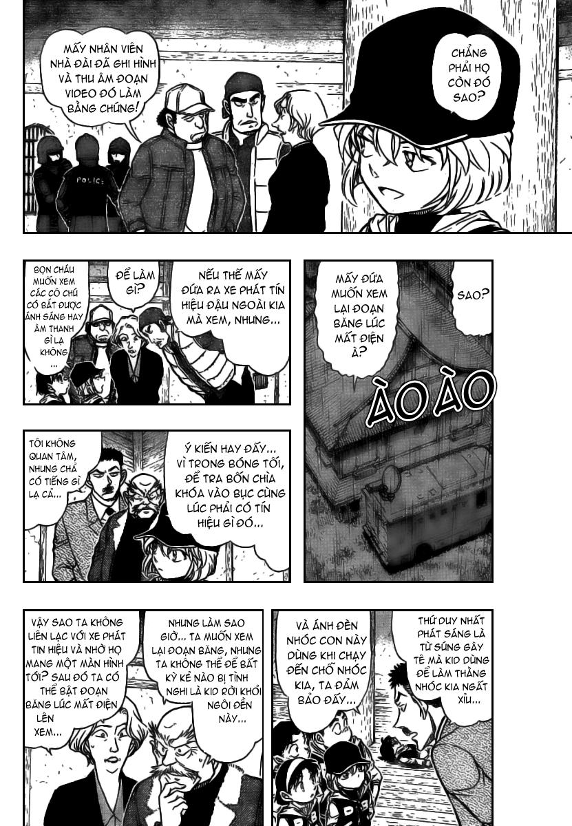 Detective Conan - Thám Tử Lừng Danh Conan chap 714 page 6 - IZTruyenTranh.com