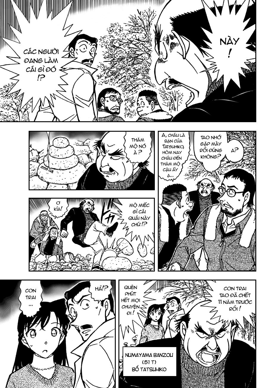 Detective Conan - Thám Tử Lừng Danh Conan chap 719 page 9 - IZTruyenTranh.com