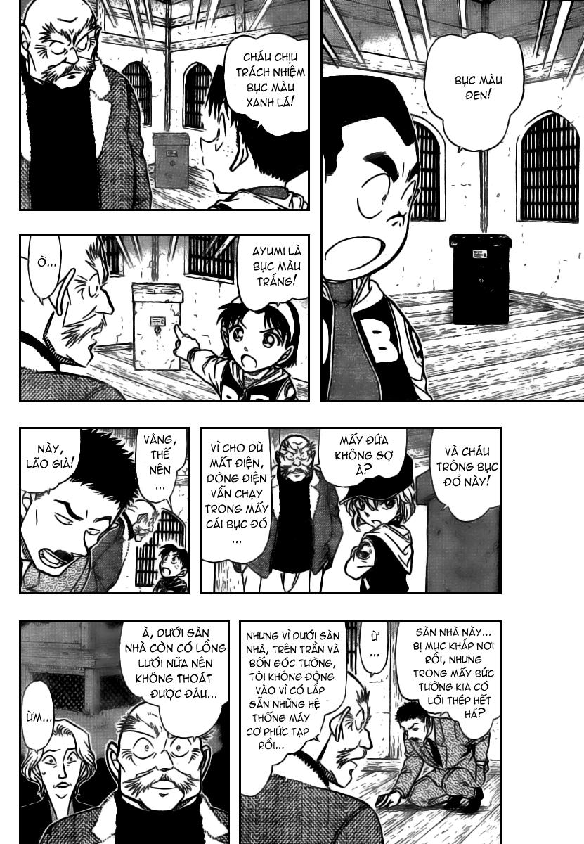Detective Conan - Thám Tử Lừng Danh Conan chap 714 page 10 - IZTruyenTranh.com