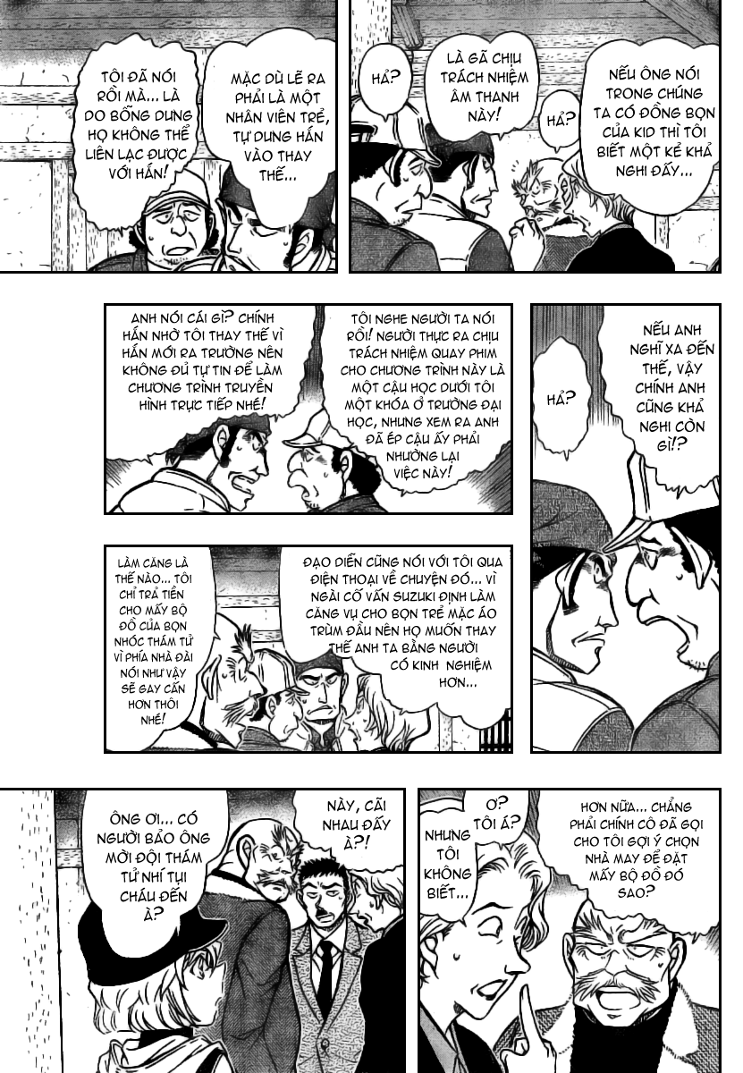 Detective Conan - Thám Tử Lừng Danh Conan chap 714 page 11 - IZTruyenTranh.com