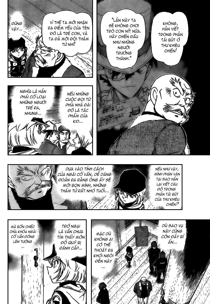 Detective Conan - Thám Tử Lừng Danh Conan chap 714 page 12 - IZTruyenTranh.com