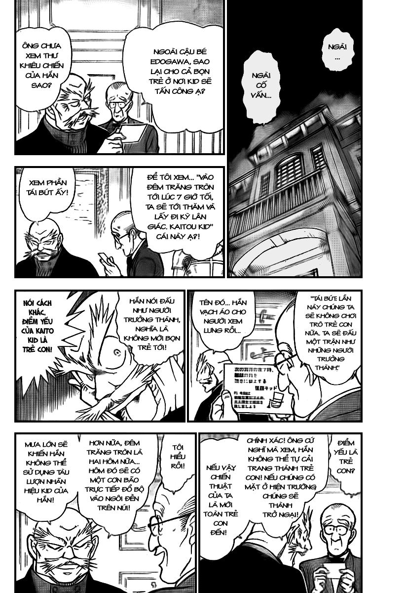 Detective Conan - Thám Tử Lừng Danh Conan chap 712 page 4 - IZTruyenTranh.com