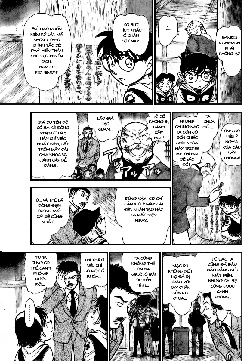 Detective Conan - Thám Tử Lừng Danh Conan chap 712 page 11 - IZTruyenTranh.com