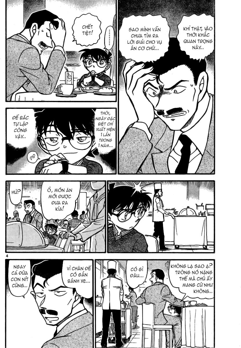Detective Conan - Thám Tử Lừng Danh Conan chap 711 page 5 - IZTruyenTranh.com