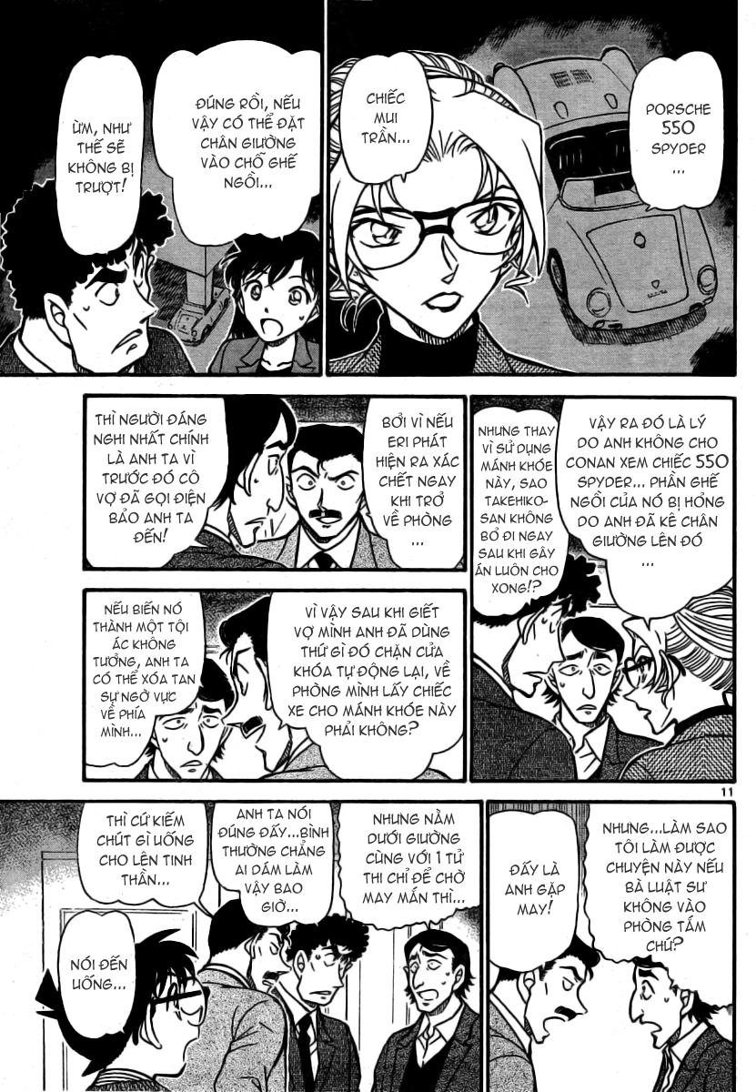Detective Conan - Thám Tử Lừng Danh Conan chap 711 page 12 - IZTruyenTranh.com
