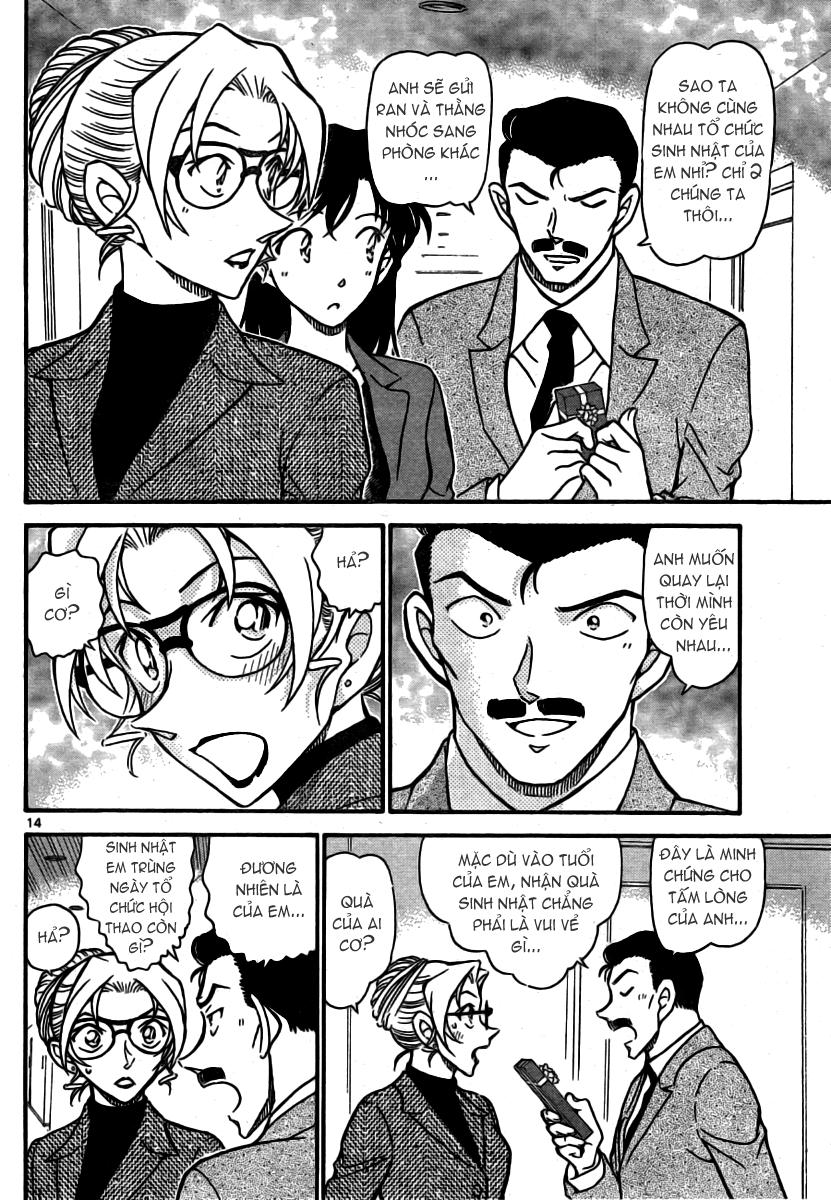 Detective Conan - Thám Tử Lừng Danh Conan chap 711 page 15 - IZTruyenTranh.com