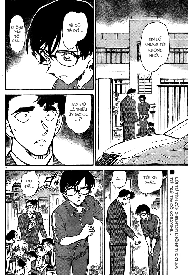 Detective Conan - Thám Tử Lừng Danh Conan chap 708 page 2 - IZTruyenTranh.com