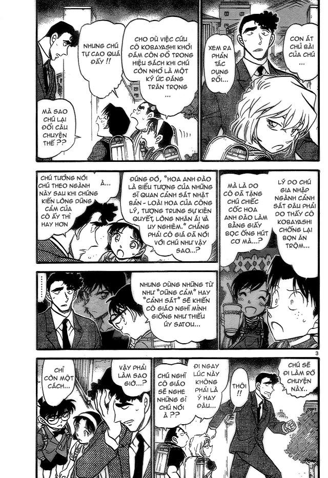 Detective Conan - Thám Tử Lừng Danh Conan chap 708 page 3 - IZTruyenTranh.com