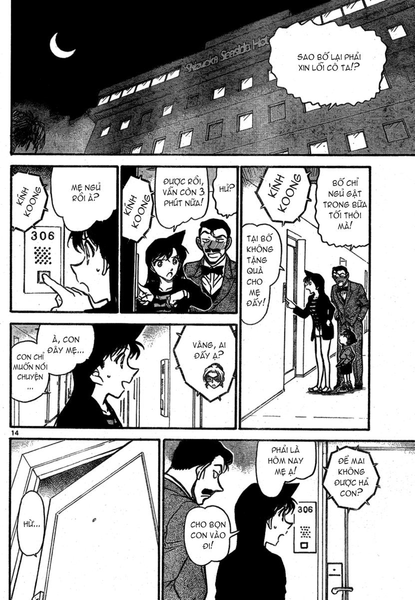 Detective Conan - Thám Tử Lừng Danh Conan chap 709 page 15 - IZTruyenTranh.com